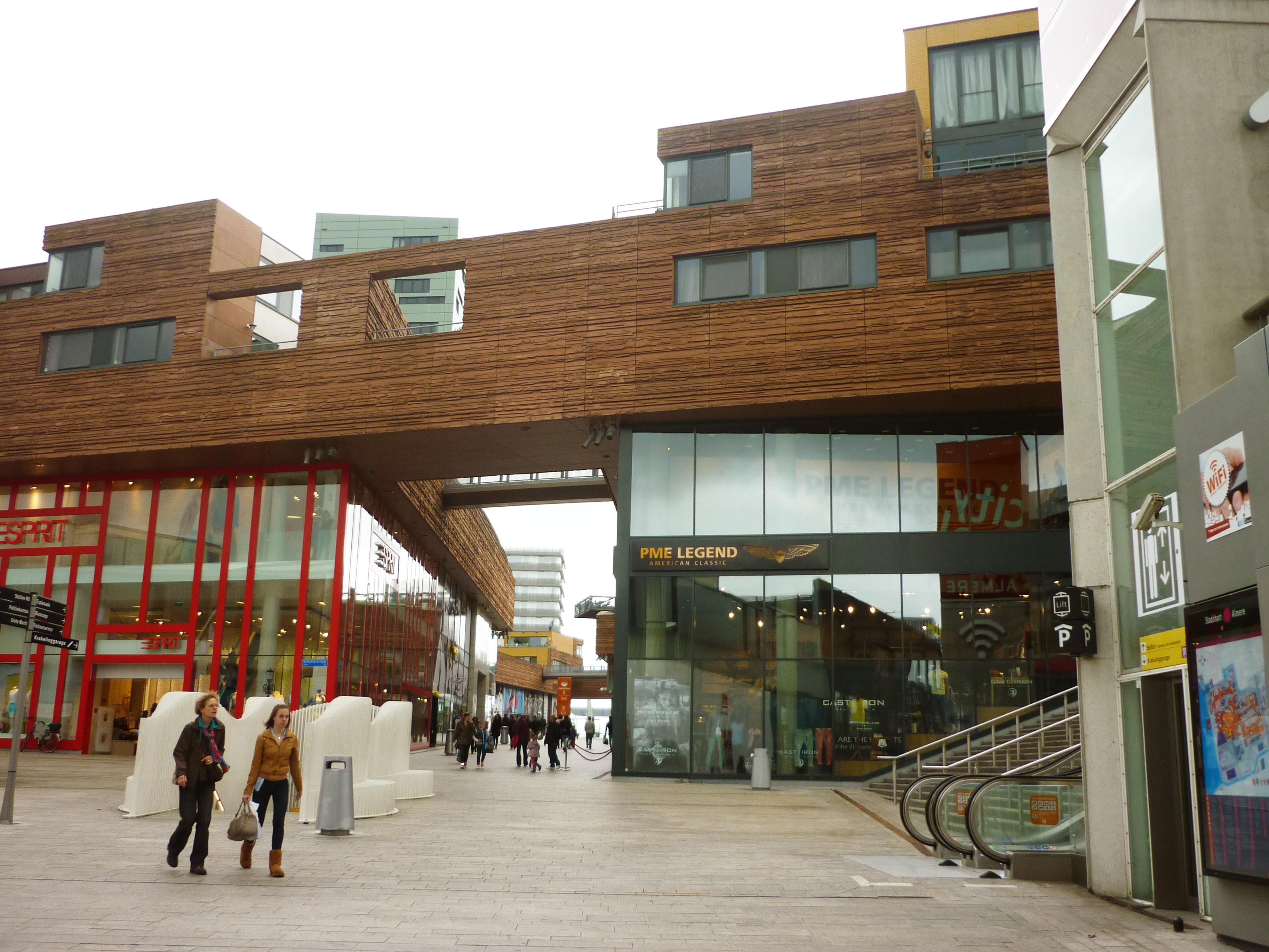 Citymall Almere   Andere Tijden Architectuur Chagallweg 10 Almere